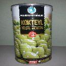 Оливки зелёные Коктейльные в рассоле 800 гр