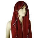 Вуали, платки для восточных танцев