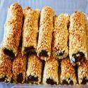 Печенье Фингерс кунжутное с финиками