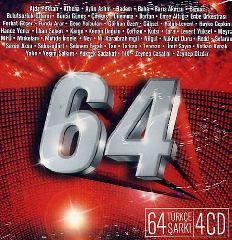 64 Turkce Sarki (4 CD)