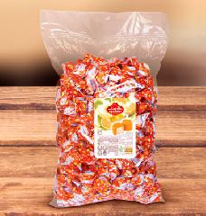 Конфеты из пашмалы со вкусом апельсина во фруктовой глазури 2.5 кг
