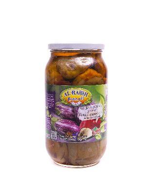Баклажаны консервированные с перцем 950 гр