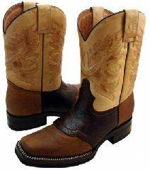 Cowboy Western Biker Shoes