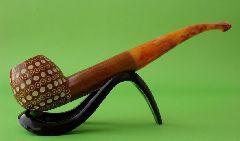 Пенковая курительная трубка Lattice 1934 wax