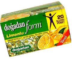 Чай травяной микс (Form) Догадан с лимоном