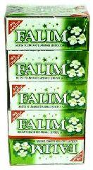Жевательная резинка Falim со вкусом мелиссы