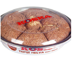 Халва кунжутная на подносе с какао 650 гр