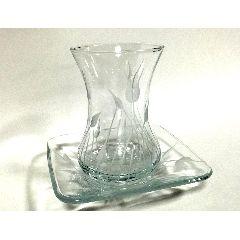 Набор стаканчиков стекло 6 персон (12 предметов)