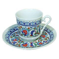 Кофейная чашечка+блюдце для кофе по турецки
