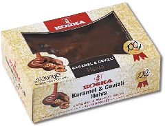 Халва кунжутная с грецким орехом и карамелью 200 гр