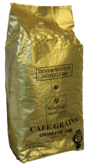 """Зерновой кофе PLANTEUR DES TROPIQUES """"QUALITE OR"""" 1 кг"""