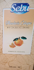 Колонья (kolonya) с ароматом мандарина 200 гр