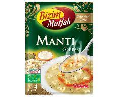 Суп с манты (Mantı çorbası)