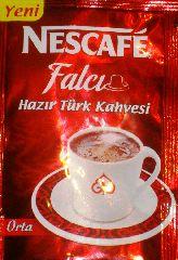 Nescafe falci - Растворимый турецкий кофе!
