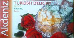 Турецкий лукум с ароматом лимона мяты розы