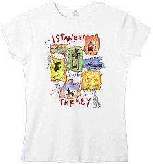 "Футболка ""Стамбул в карикатурах"""