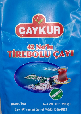 ÇAYKUR 42 NO TİREBOLU ÇAYI 500 гр