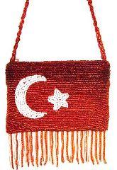 "Кошелёк ""Турецкий флаг"" (дизайн №1)"