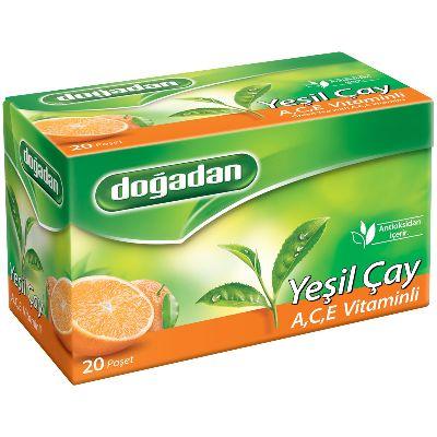 чай зеленый Dogadan с витаминами A B C