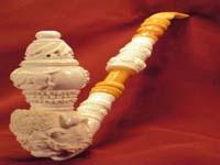 """Курительная трубка из """"морской пенки"""" (Meerschaum Pipe (Luletasi)) - Buffalo"""