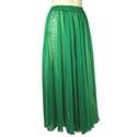 Юбка зеленая шелковая
