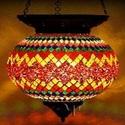 Мозаичный подвесной светильник