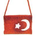 "Кошелёк ""Турецкий флаг"" (дизайн №2)"